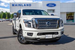 Used 2017 Nissan Titan XD Platinum Reserve Diesel ONE OWNER, ACCIDENT FREE, BC LOCAL for sale in Surrey, BC