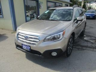 Used 2017 Subaru Outback ALL-WHEEL DRIVE SYSTEM LIMITED EDITION 5 PASSENGER 2.5L - DOHC.. NAVIGATION.. LEATHER.. HEATED SEATS.. BACK-UP CAMERA.. POWER SUNROOF.. for sale in Bradford, ON