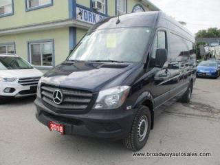 Used 2018 Mercedes-Benz Sprinter 3/4 TON CARGO MOVING 3 PASSENGER 3.0L - DIESEL.. HIGH-ROOF.. EXT-CARGO.. BLUETOOTH.. BACK-UP CAMERA.. CLIMATE CONTROLLED CARGO.. for sale in Bradford, ON