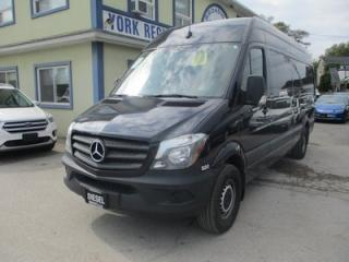 Used 2017 Mercedes-Benz Sprinter 3/4 TON CARGO MOVING 2 PASSENGER 3.0L - DIESEL.. HIGH-ROOF.. EXT-CARGO.. BLUETOOTH.. BACK-UP CAMERA.. CLIMATE CONTROLLED CARGO.. for sale in Bradford, ON