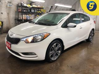 Used 2014 Kia Forte EX * UVO by Microsoft audio system * Heated front seats * Phone connect * Hands free steering wheel controls * Telescopic/tilt steering * Power window for sale in Cambridge, ON