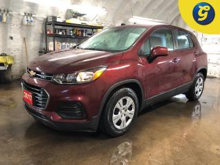 Used 2017 Chevrolet Trax On Star * Auto headlights * Power lumbar drivers seat * Climate control * Phone connect * Hands free steering wheel controls * Cruise control * Tracti for sale in Cambridge, ON