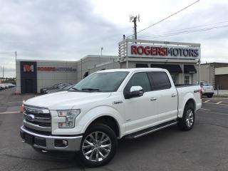 Used 2016 Ford F-150 LARIAT SUPERCREW 4WD - NAVI - PANO ROOF for sale in Oakville, ON