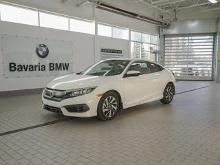 Used 2018 Honda Civic Coupe LX CVT for sale in Edmonton, AB