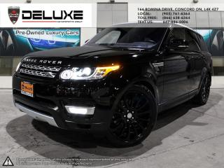 Used 2017 Land Rover Range Rover Sport DIESEL Td6 HSE 2017 LAND ROVER RANGE ROVER SPORT HSE DIESEL TD6 NAVIGATION, UPGRADE AUTOBIOGRAPHY RIMS  DIGITAL DAS for sale in Concord, ON