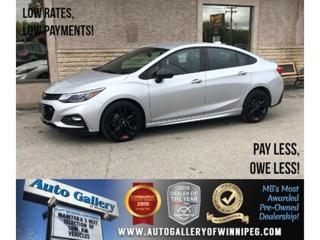 Used 2018 Chevrolet Cruze LT *Bluetooth/Back. Cam/Htd Seats for sale in Winnipeg, MB