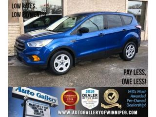 Used 2017 Ford Escape S *Bluetooth/Backup Camera for sale in Winnipeg, MB
