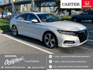 Used 2018 Honda Accord Touring 2.0T CERTIFIED + 7 YEAR/160000KM for sale in Vancouver, BC