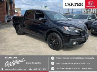 Used 2017 Honda Ridgeline Black Edition CERTIFIED + 7 YEAR/160000KM for sale in Vancouver, BC