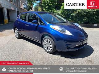 Used 2017 Nissan Leaf S EV + QUICK CHARGE + CARTER HONDA CLEAROUT! for sale in Vancouver, BC