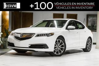 Used 2015 Acura TLX * SH-AWD * TECHNOLOGY * CERTIFIED * for sale in Montréal, QC