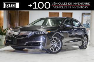 Used 2016 Acura TLX * ELITE SH-AWD * CERTIFIED * WARRANTY 130 000km * for sale in Montréal, QC
