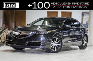Used 2016 Acura TLX * Certified * Back Up Camera * Warranty 130 000km* for sale in Montréal, QC