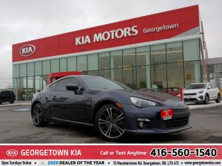 Used 2015 Subaru BRZ SPORT-TECH| 6 SPD M/T| HTD SEATS| 108K KMS | TINTS for sale in Georgetown, ON