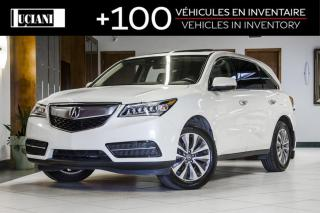Used 2016 Acura MDX SH-AWD * TECHNOLOGIE * NAVIGATION * DVD * for sale in Montréal, QC