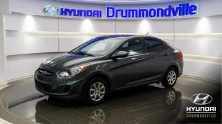Used 2012 Hyundai Accent L + 87078KM + JAMAIS ACCIDENTE + WOW !! for sale in Drummondville, QC