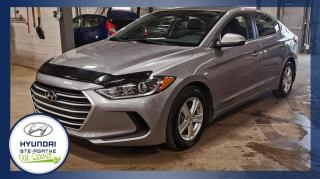 Used 2017 Hyundai Elantra BAS KM, Berline 4 portes, boîte manuelle for sale in Val-David, QC