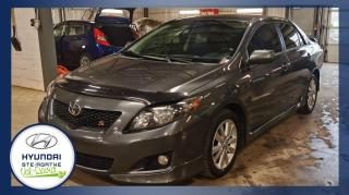 Used 2010 Toyota Corolla Bas Km, Berline 4 portes, boîte manuelle for sale in Val-David, QC