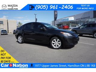 Used 2011 Mazda MAZDA3 GX | A/C | ALLOYS | CD PLAYER | AUX INPUT for sale in Hamilton, ON