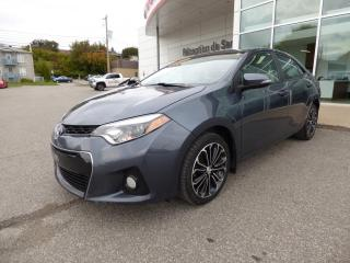 Used 2015 Toyota Corolla S berline 4 portes avec Toit ouvrant for sale in Trois-Rivières, QC