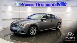 Used 2010 Infiniti G37 S + CUIR + BOSE + TOIT + NAVI + CAMÉRA ! for sale in Drummondville, QC