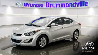 Used 2016 Hyundai Elantra LE + GARANTIE + 21 207 KM + A/C + WOW !! for sale in Drummondville, QC