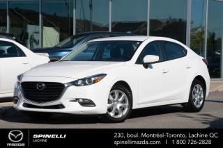 Used 2017 Mazda MAZDA3 GX SEDAN AUTO A/C CAMERA AUTO A/C BAS MILAGE for sale in Lachine, QC