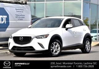 Used 2017 Mazda CX-3 GS AWD CAMERA 2.0 BLUETOOTH AWD GS for sale in Lachine, QC