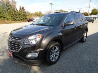Used 2016 Chevrolet Equinox LT AWD / NAV/ ROOF for sale in Beaverton, ON