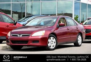 Used 2006 Honda Accord DX-G BAS MILEAGE SEDAN AUTO A/C for sale in Lachine, QC