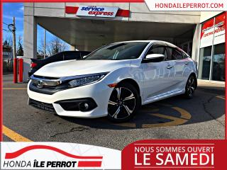 Used 2018 Honda Civic Touring CVT, WOW 13 000KM for sale in Île-Perrot, QC