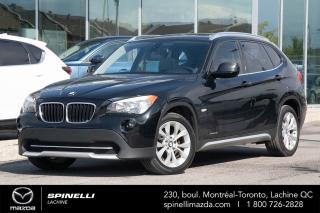 Used 2012 BMW X1 XDrive28i SPORT BLUETOOTH AUTO A/C for sale in Lachine, QC