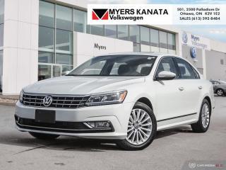 Used 2017 Volkswagen Passat Comfortline  - Certified for sale in Kanata, ON