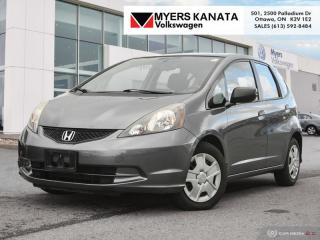 Used 2013 Honda Fit DX-A 5AT  - Low Mileage for sale in Kanata, ON