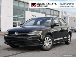 Used 2015 Volkswagen Jetta Trendline plus 2.0 5sp for sale in Kanata, ON