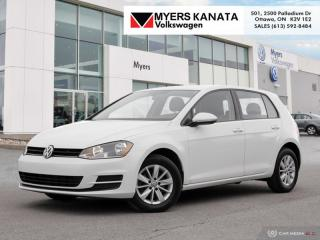 Used 2016 Volkswagen Golf 1.8 TSI Trendline  -  Bluetooth for sale in Kanata, ON