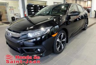 Used 2016 Honda Civic Touring 4 portes CVT Navi Cuir Toit Came for sale in St-Jean-Sur-Richelieu, QC