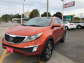 Used 2012 Kia Sportage EX w/Luxury Pkg for sale in Cobourg, ON