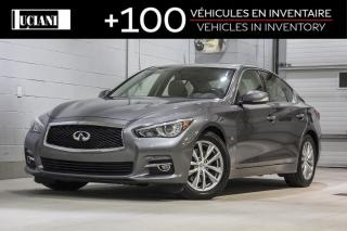 Used 2016 Infiniti Q50 4dr Sdn 3.0t!! BOSE , GPS , CAMERA !! for sale in Montréal, QC