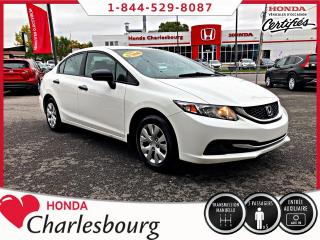 Used 2014 Honda Civic CIVIC DX**UN PROPRIÉTAIRE**AUCUN ACCIDEN for sale in Charlesbourg, QC