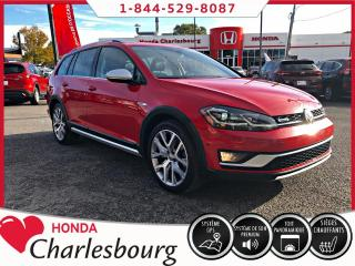Used 2018 Volkswagen Golf Sportwagen Alltrack **32 847 KM**TOIT PANORAMIQUE** for sale in Charlesbourg, QC