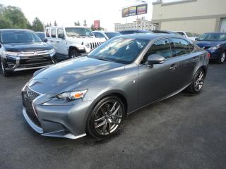 Used 2016 Lexus IS 300 F Sport AWD Cuir Toit Ouvrant Bluetooth for sale in Laval, QC