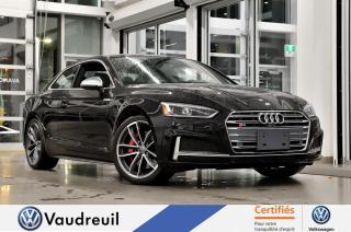 Used 2018 Audi S5 Technik 3.0 TFSI * HUD * B&O * VIRTUAL C for sale in Vaudreuil-Dorion, QC