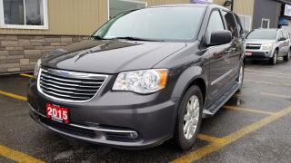 Used 2015 Chrysler Town & Country Touring-NAVIGATION-RUNNING BOARDS-REAR CAMERA for sale in Tilbury, ON