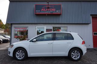 Used 2015 Volkswagen Golf TRENDLINE 1.8 TSI AUTO MAGS BLUETOOTH 31 442 KM for sale in Lévis, QC