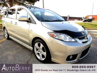 Used 2007 Mazda MAZDA5 2.3L - FWD -  5 SPEED for sale in Woodbridge, ON