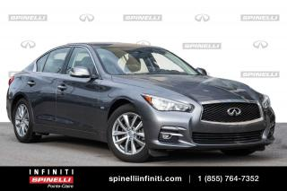 Used 2016 Infiniti Q50 2.0T / TOIT / GPS /CAMERA BAS KM/  TOIT / GPS /CAMERA for sale in Montréal, QC