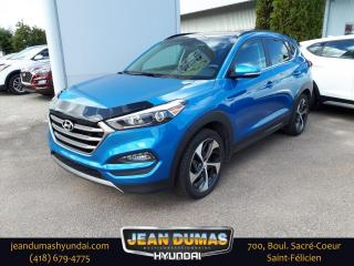 Used 2016 Hyundai Tucson Limited 1.6L 4 portes TI for sale in St-Félicien, QC