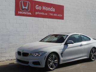 Used 2014 BMW 4 Series 435i xDrive COUPE M-SPORT for sale in Edmonton, AB