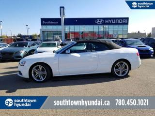 Used 2014 Audi S5 TECHNIK/CONVERTIBLE/LOADED/LOW KMS!! for sale in Edmonton, AB